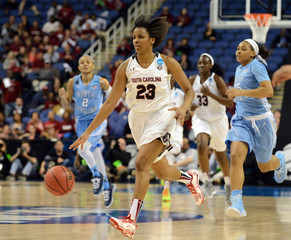 NCAA Womens Basketball: NCAA Tournament-Greensboro Regional: North Carolina v South Carolina