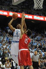 NCAA Basketball: Radford at North Carolina