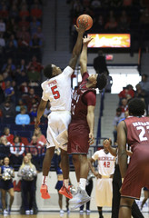 NCAA Basketball: Troy at Mississippi
