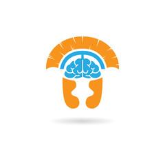 Spartan brain logo