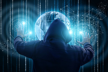 Thief attacks in the global network.