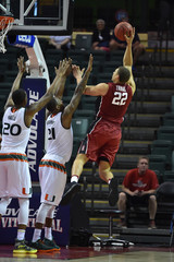 NCAA Basketball: Stanford at Miami