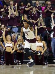 NCAA Basketball: Arkansas at Texas A&M