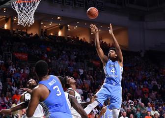NCAA Basketball: North Carolina at Miami