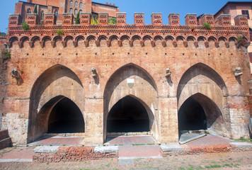 Fontebranda, Siena, Italy
