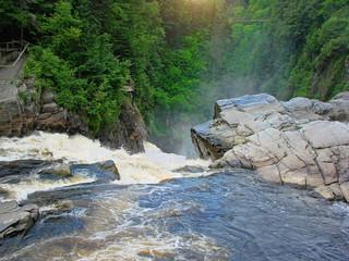 Canyon Sainte-Anne Waterfall, Quebec
