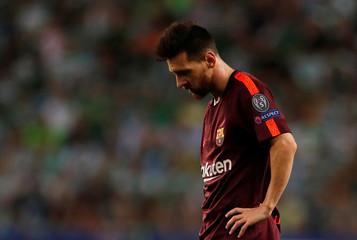 Champions League - Sporting CP vs FC Barcelona