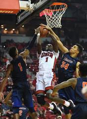 NCAA Basketball: Cal St. Fullerton at UNLV