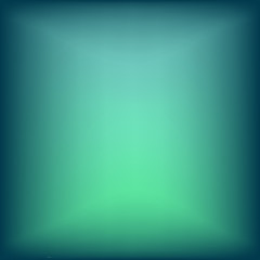 Turquoise abstract background.Blur gradient