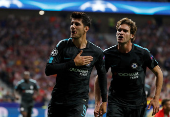 Champions League - Atletico Madrid vs Chelsea
