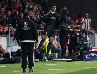 Champions League - Atletico Madrid vs Chelsea