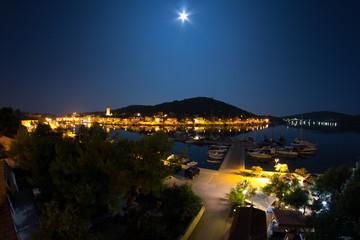 View over Tisno on Murter island in Croatia