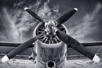 Obraz propeller - fototapety do salonu