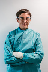 Portrait of a Young Surgeon