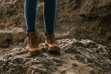 Woman's Kiking Boots