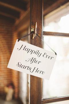 happy sign