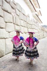 Traditional Peruvian Dancers. Peru