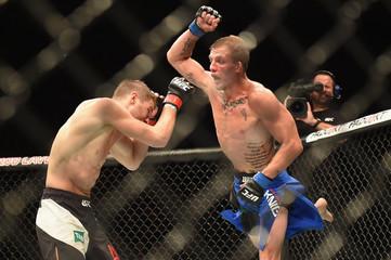 MMA: UFC Fight Night-Hooker vs Knight