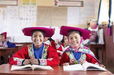 Traditional Peruvian school, Cusco, Peru