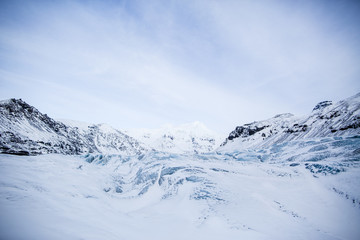 The Blue Ice of Sv???__nafellsj???__kull glacier