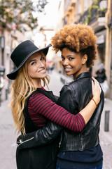 Stylish Women at the City