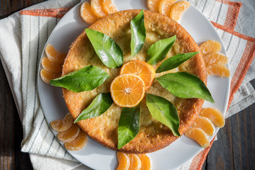 Turkish Orange Cake