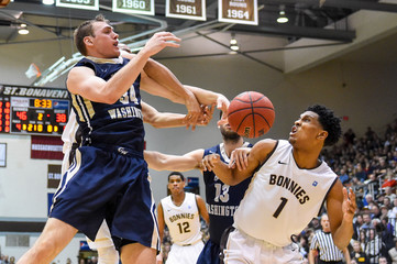 NCAA Basketball: George Washington at St. Bonaventure