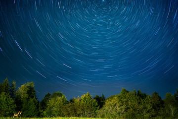 Star Trails in Nova Scotia