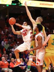 NCAA Basketball: Notre Dame at Clemson