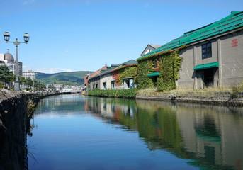 北海道の観光地 小樽運河