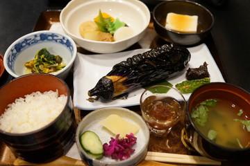 精進料理 高野山 ベジタリアン 食事 和食 マクロビ 菜食 茄子