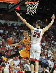 NCAA Basketball: Wyoming at UNLV