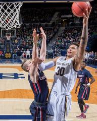 NCAA Basketball: Liberty at Notre Dame