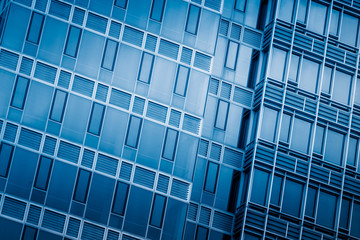 detail glass building background.