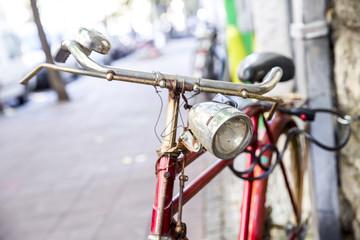 bikes on a street