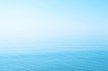 sea blue surface, horizon, calm. background.  Azov. Ukraine.