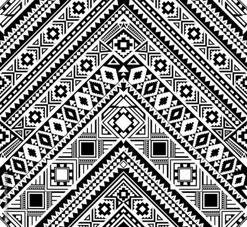 Ethnic pattern design  Seamless pattern  Navajo geometric print