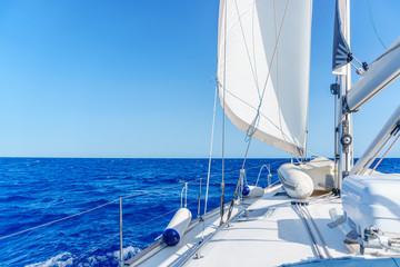 yacht near Sardinia island