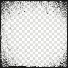 Vector illustration. Frame for image. Grunge, dirt effect