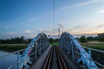 Most na rzece Ner, Polska