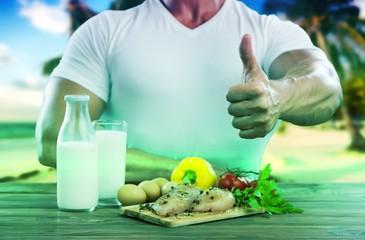 Health food.