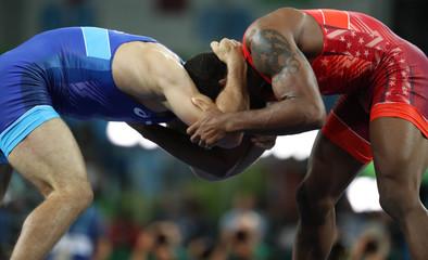 Olympics: Wrestling-Freestyle