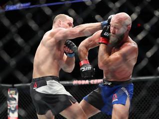 MMA: UFC Fight Night-Burkman vs Ottow