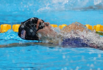 Olympics: Swimming-Evening Session