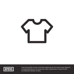 Tshirt vector icon