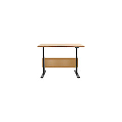 Realistic Desk Element. Vector Illustration Of Realistic Worktop Isolated On Clean Background. Can Be Used As Desk, Table And Worktop Symbols.