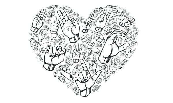 Sign Language Love