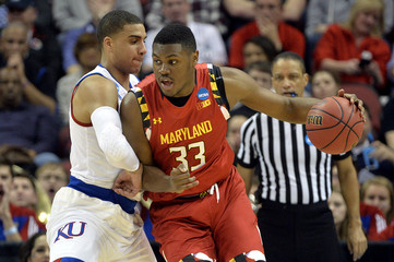 NCAA Basketball: NCAA Tournament-South Regional-Kansas vs Maryland
