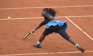 Tennis: French Open S. Williams vs Bertens