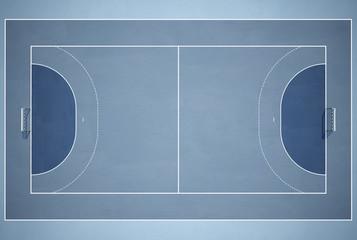 Handball Spielfeld